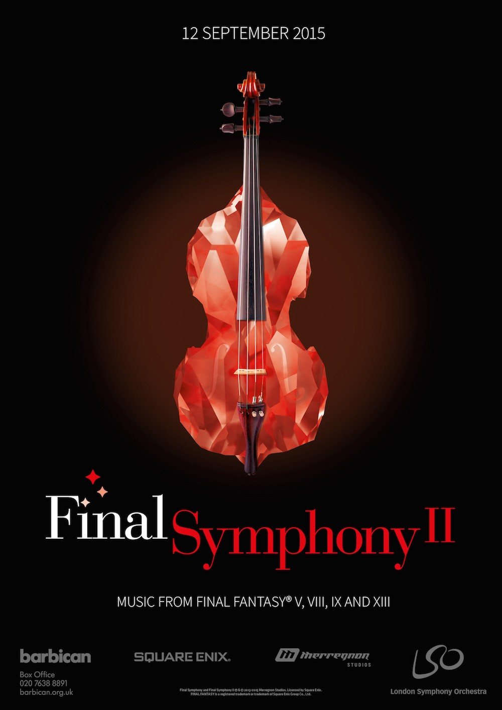 New London Final Fantasy concert, Final Symphony II Announce Today!