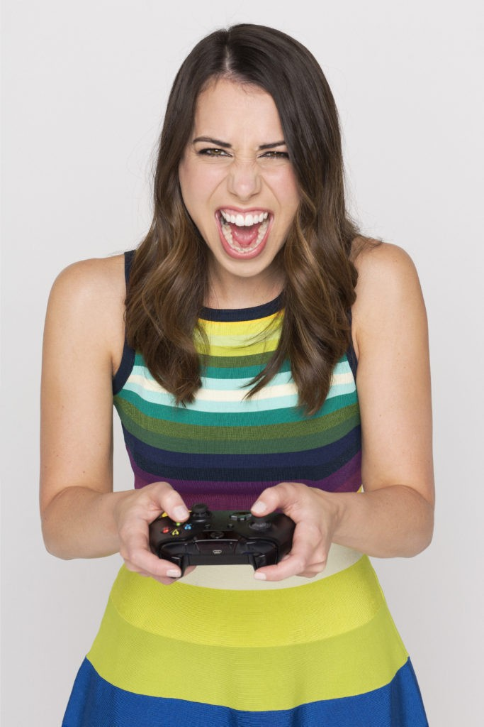 Laura is also a massive gamer!