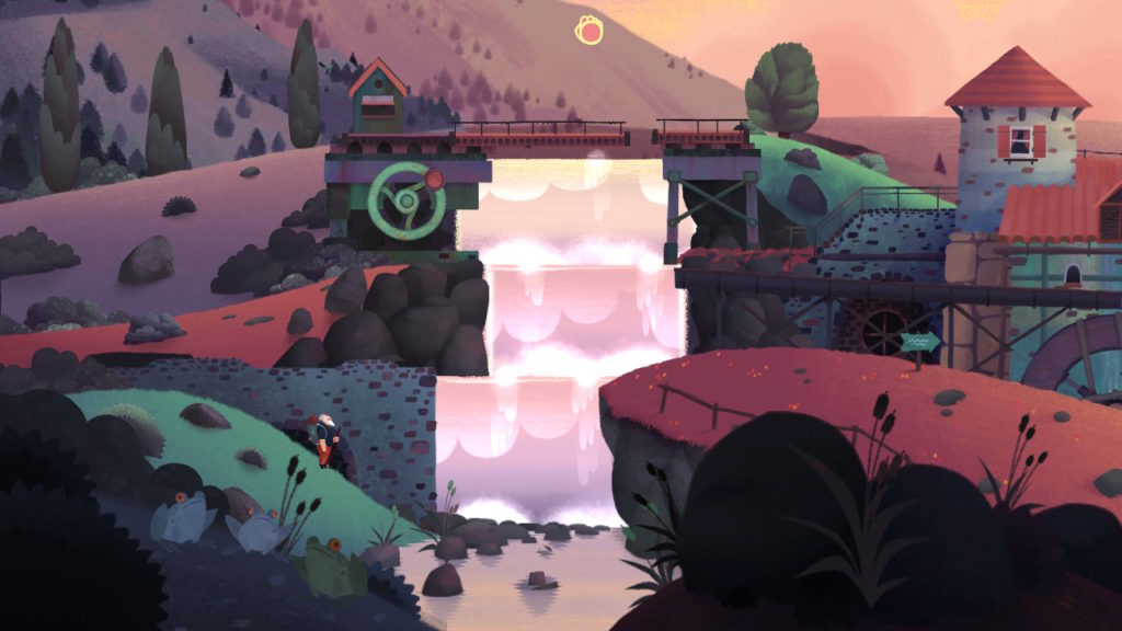 screen shot from Old Man's Journey