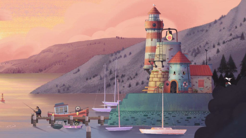 port screen shot from Old Man's Journey