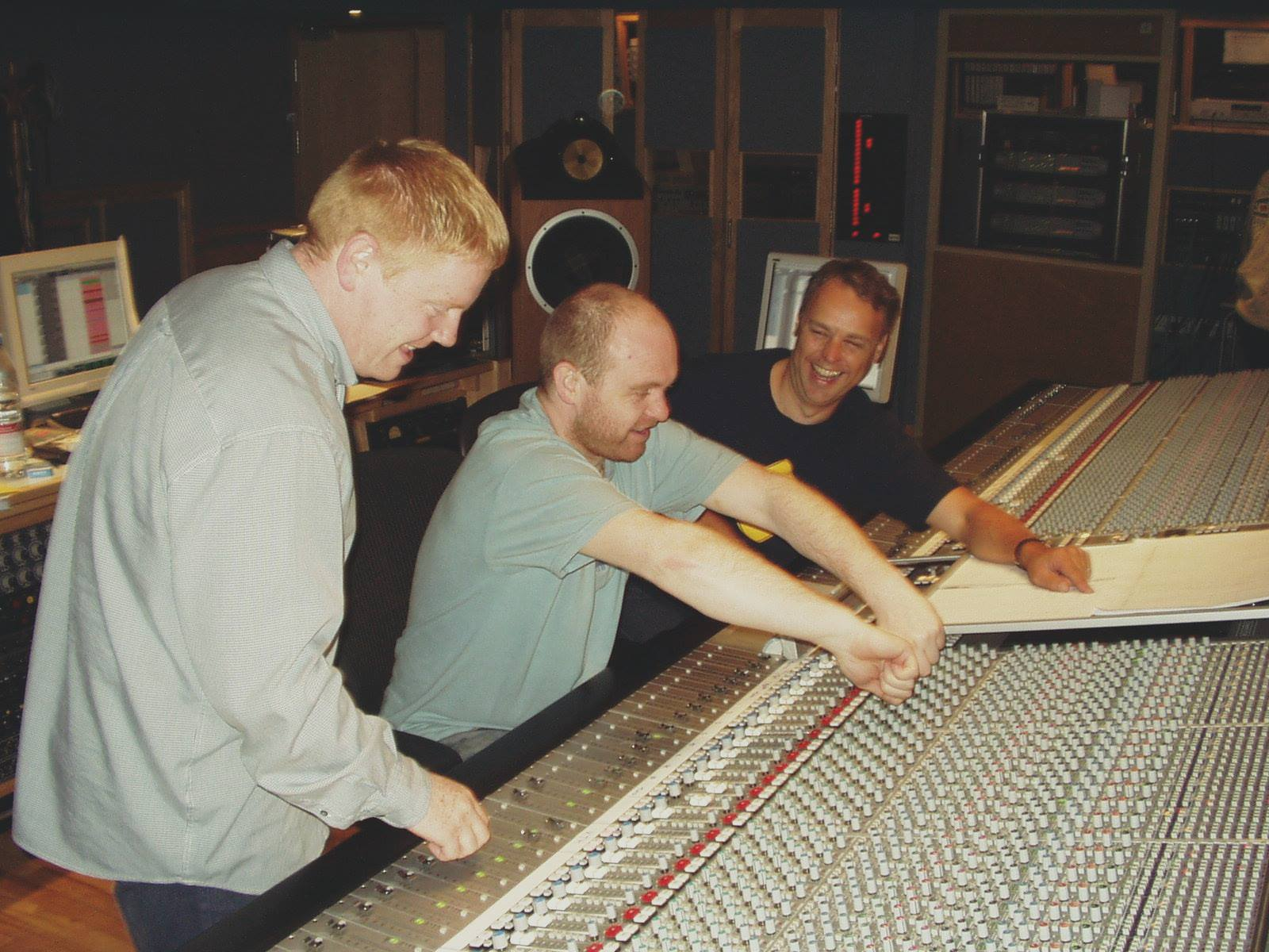 Peter and co. in the studio