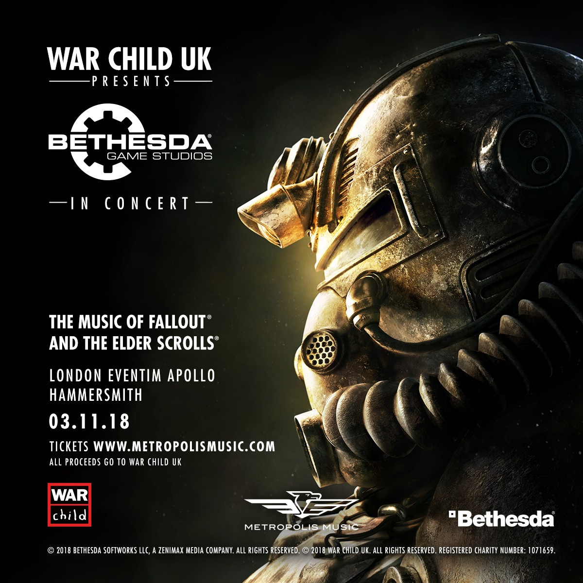bethesda in concert poster