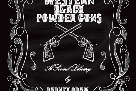 Barney Oram Western Black Powder Guns